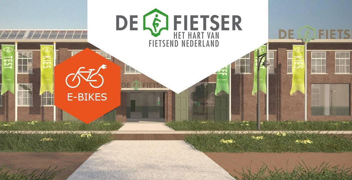 Visual De Fietser E-bike